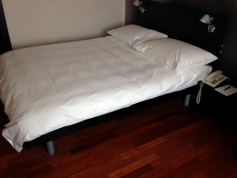 Mein Zimmer im Hotel Montana