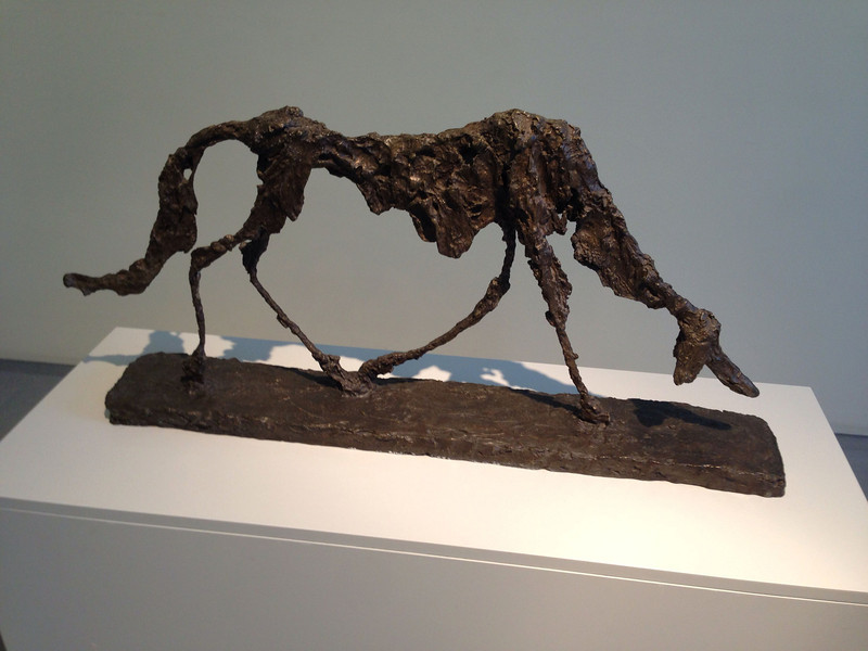 Giacometti: Der Hund
