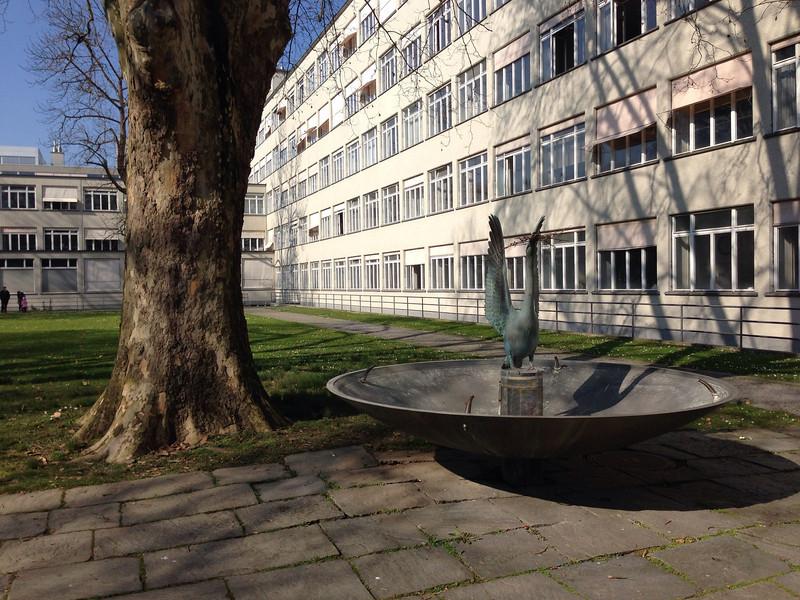Das alte Gebäude der Zürcher Hochschule der Künste