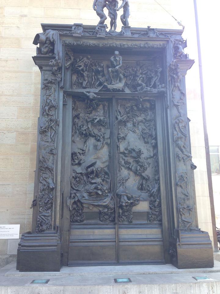 Kunsthaus Zürich, Paradiestor von Rodin