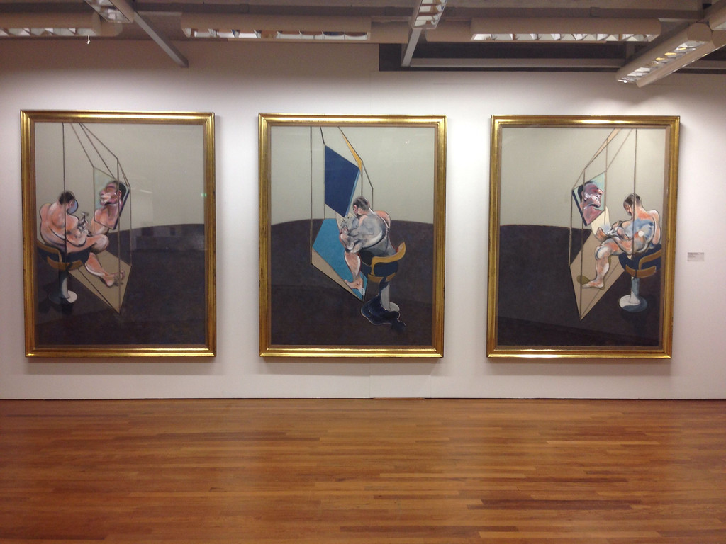 Francis Bacon: Three Studies of the Male Back