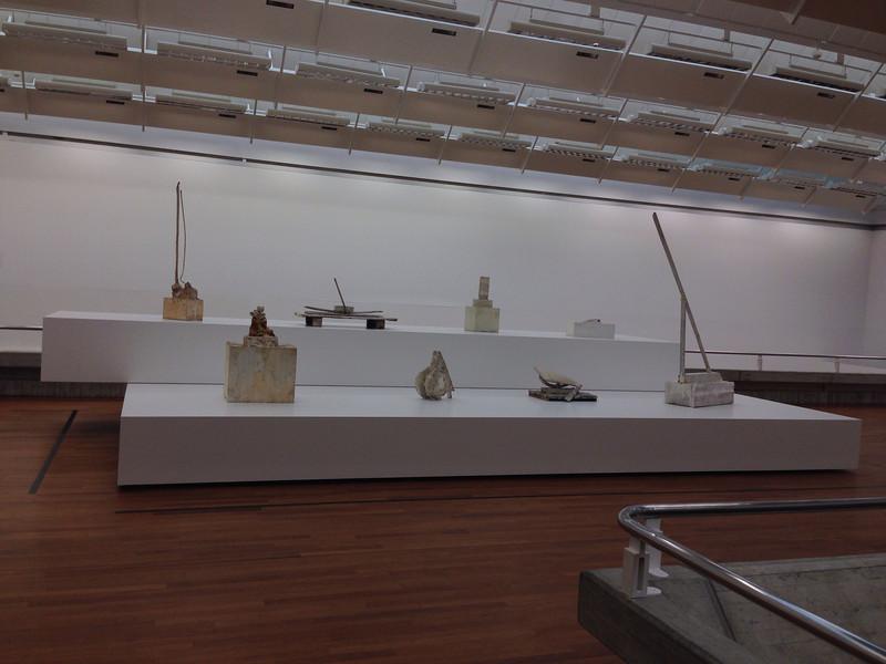 Kunsthaus. Skulpturen von Cy Twombly