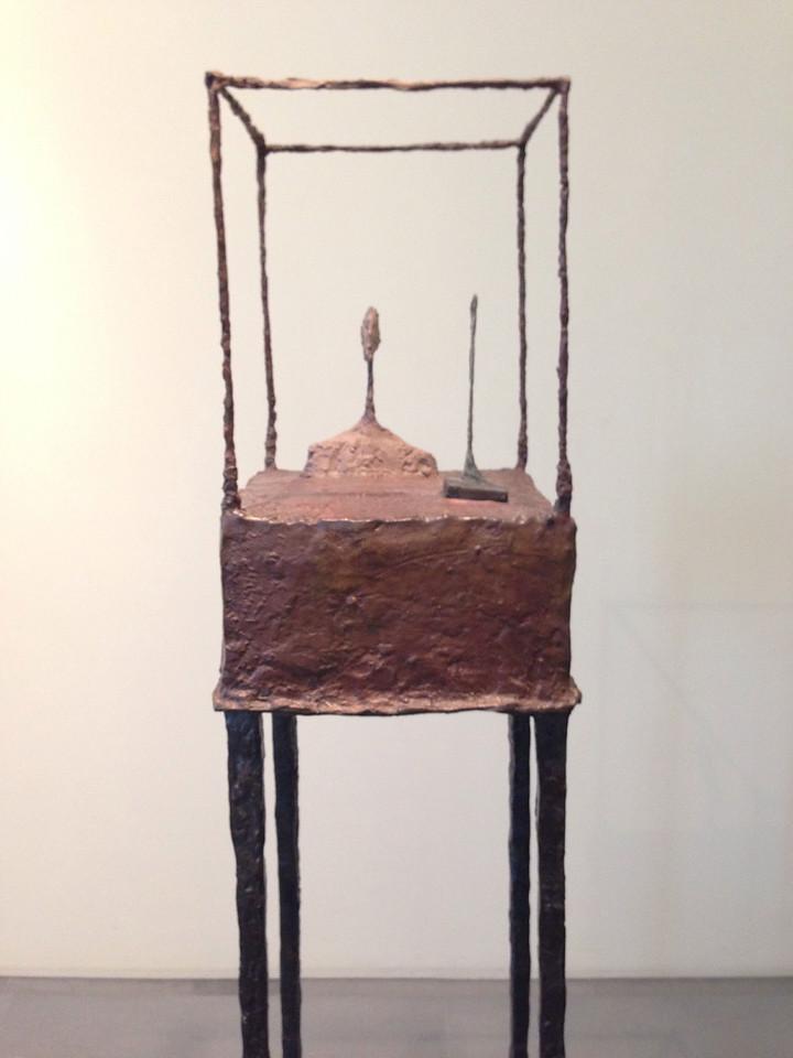 Giacometti: La cage (Der Käfig), 1950