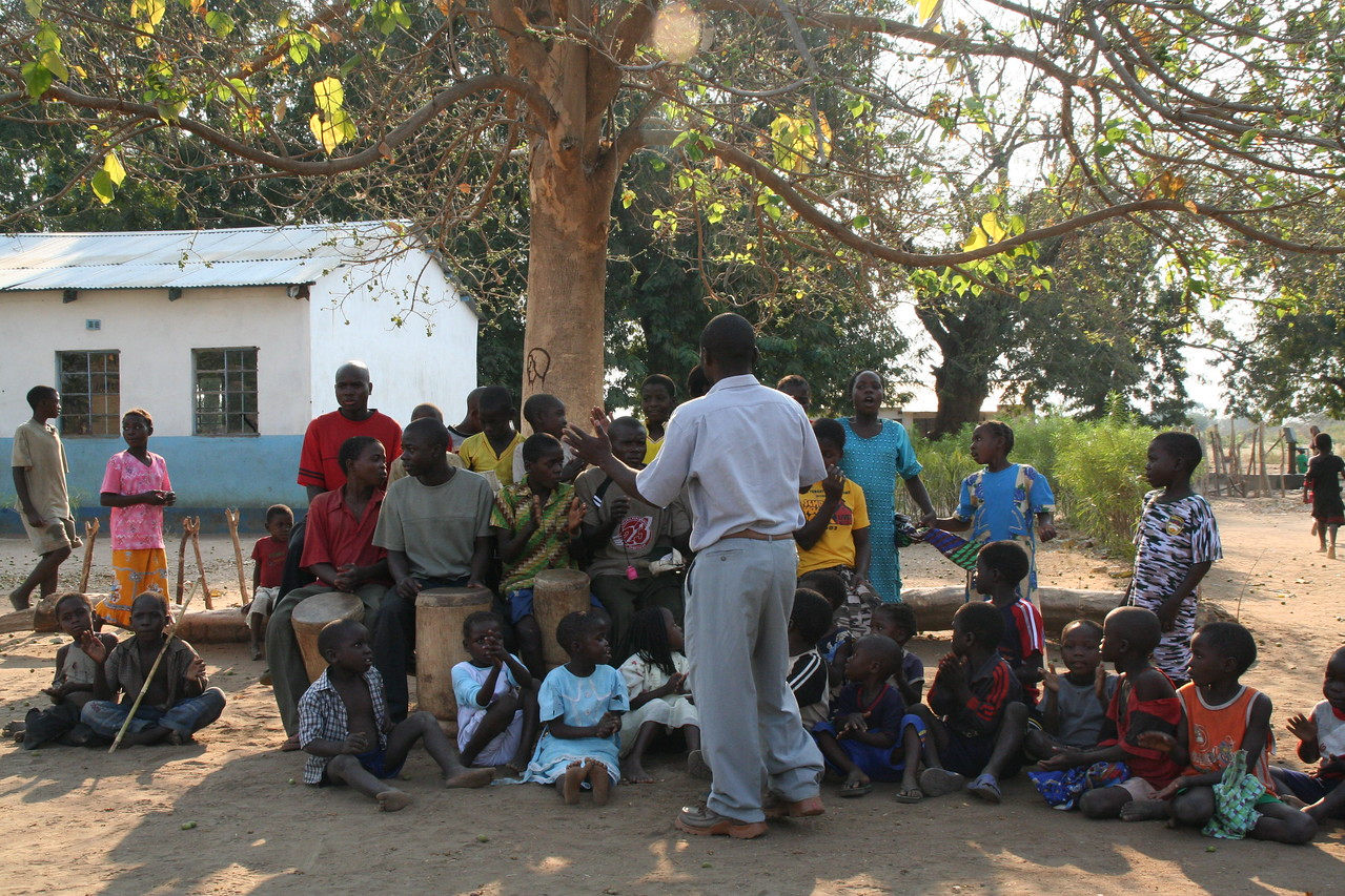 School near Tafika Camp