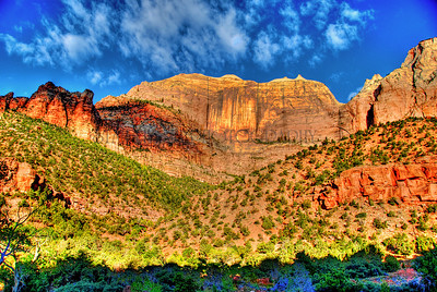 TOWERS OF THE VIRGIN-CANYON JUNCTION