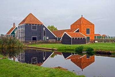 Agricultural buildings in Zaanse Schans