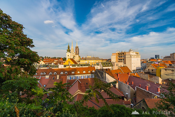 Zagreb on a sunny September afternoon
