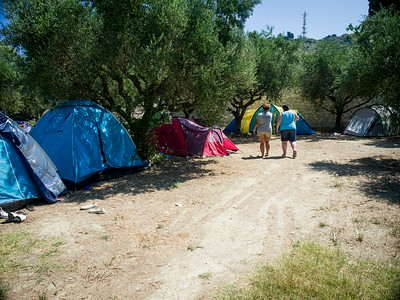 Archelon Camp - Leader's Tents
