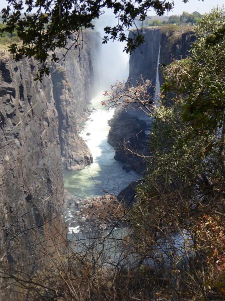 Victoria Falls - dry side