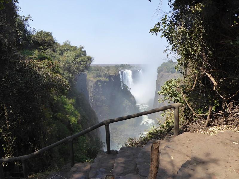 Victoria Falls from Devil's Cataract