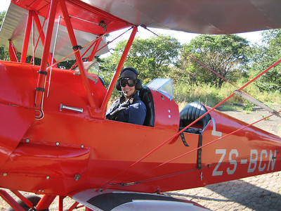 Victoria Falls by Tiger Moth!