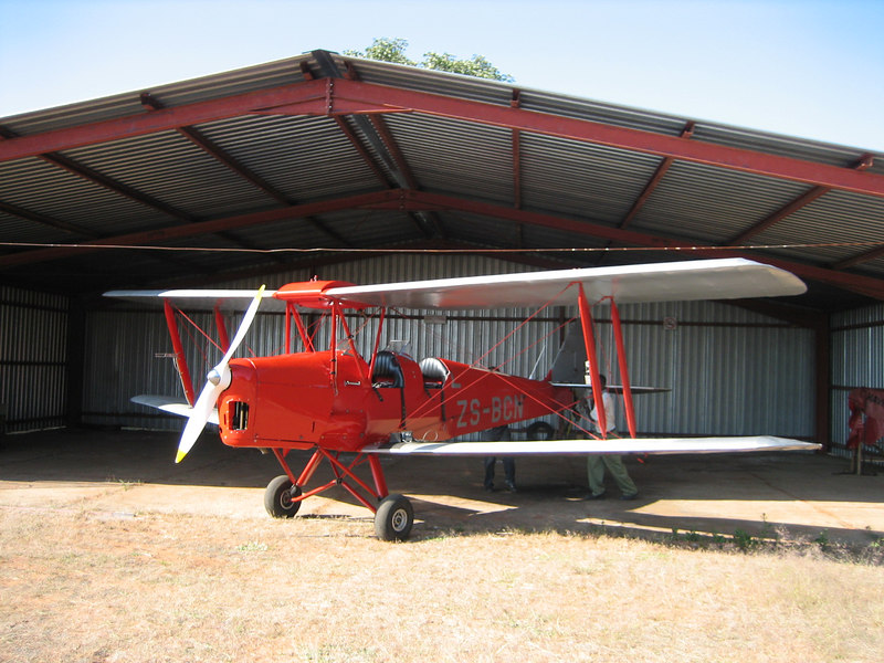 The Tiger Moth!
