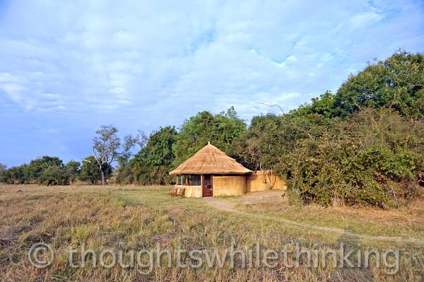 Our cabin at Kuyenda Bush Camp.