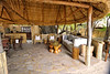 Kuyenda Bush Camp lounge and bar.