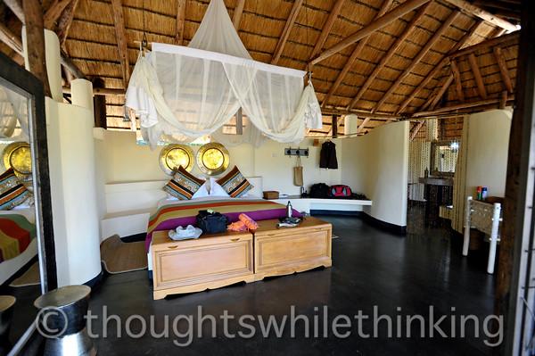 Luxurious accommodations at Kapamba Bush Camp.