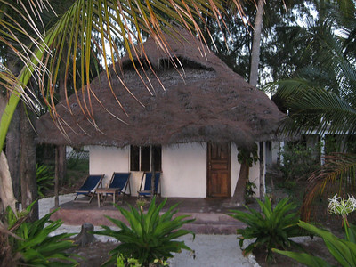 Our bungalo on Paje Beach