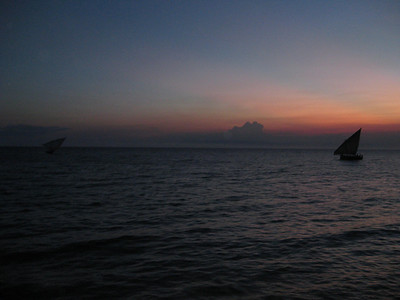 Sunset at Stone Town