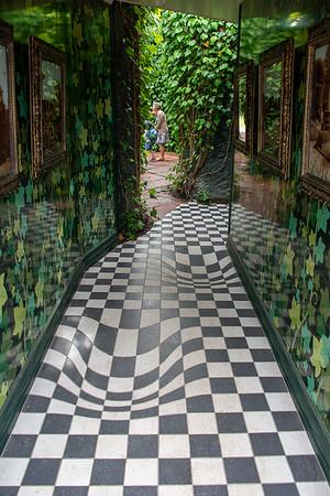 Hamilton Gardens  - Surrealist Art Garden