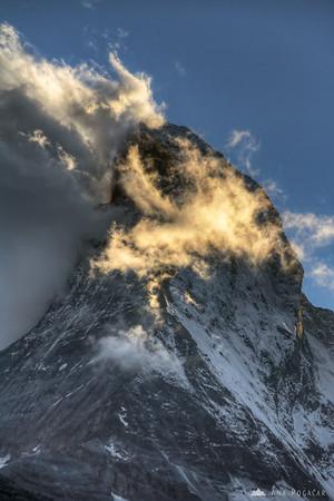 Matterhorn in late afternoon light.