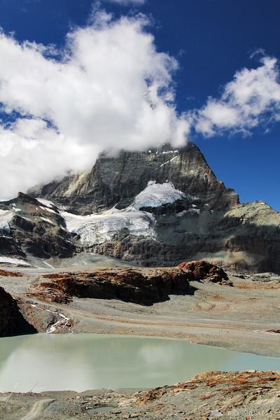 One of the lakes below Mt. Matterhorn.