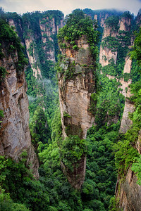 Zhangjiejia National Park, Hunan Province, China where some Avator was filmed