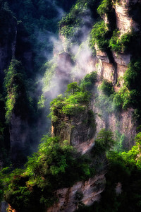 Morning Zhangjiejia National Park, Hunan Province, China