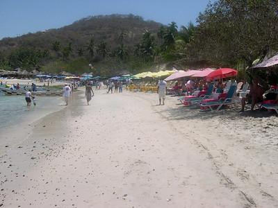 Las Gatas beach.