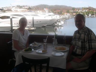 Lunch in Ixtapa.