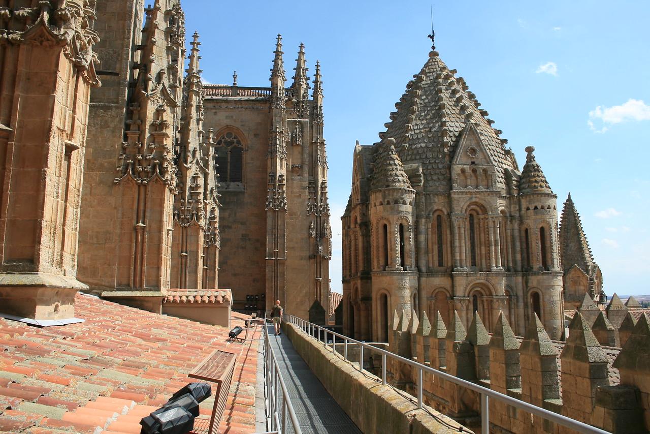 Salamanca - Catedral Nueva en Vieja
