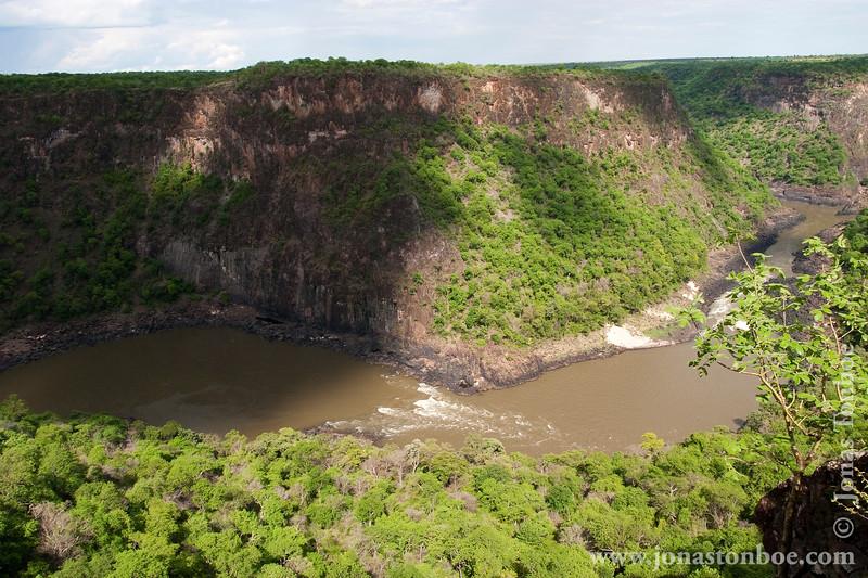 Zambezi River and Gorge