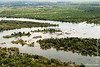 Zambezi River Seen From Helicopter