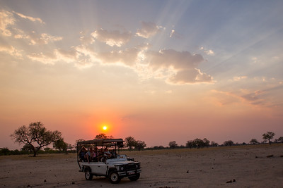 Another day ends in Hwange