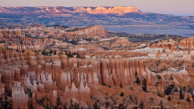 Bryce Canyon during sunset