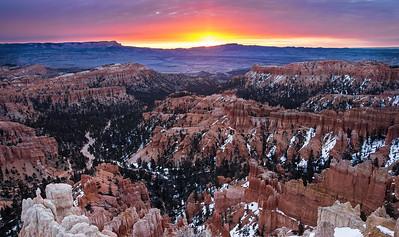 Sunrise at Inspiration Point