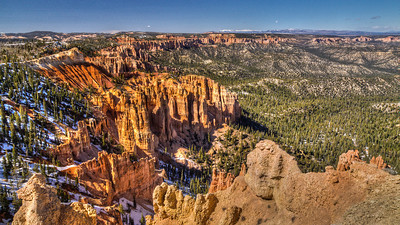 Bryce Canyon National Park from Rainbow Point (southest end of the NP)