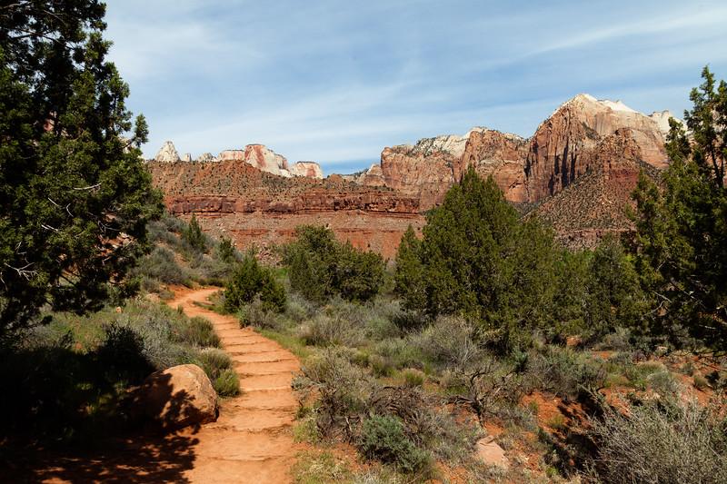 Watchman Trail, Zion National Park, Utah, USA