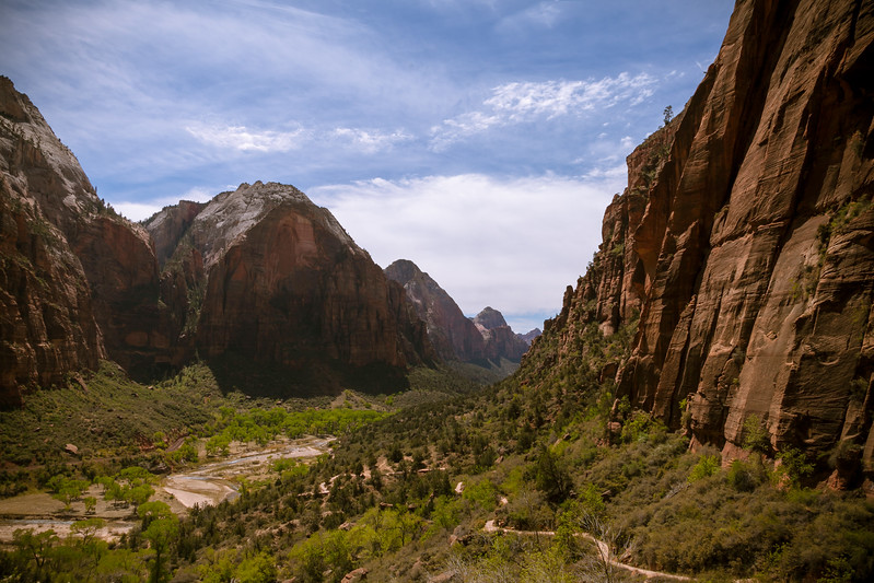 Angels Landing Trail, Zion National Park, Utah, USA