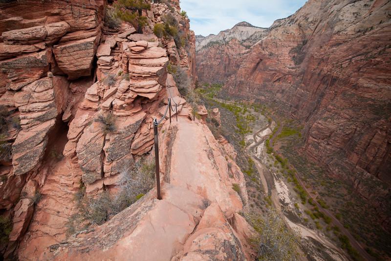 Angels Landing Trail, Zion National Park, Utah, USA
