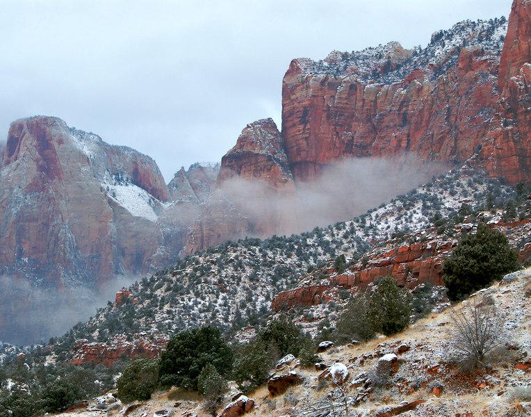 Zion Winter Storm
