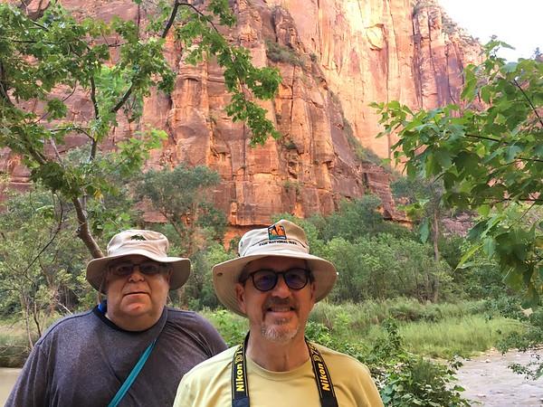 Zion hiking buddies