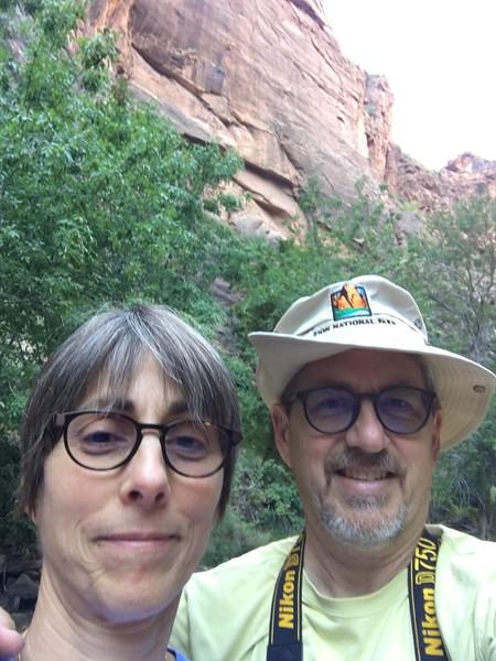 Zion NP tourists