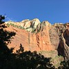 Zion NP from the shuttle