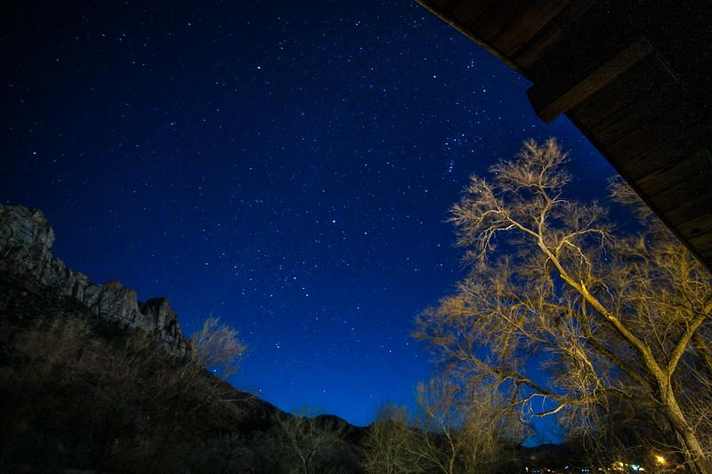 Stars @ Zion NP
