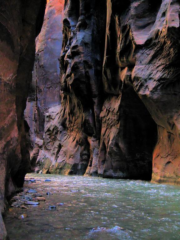 Zion national park Utah Narrows