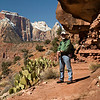 OK, this is a photo of me at Zion.
