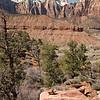 Snowcapped Navajo Sandstone