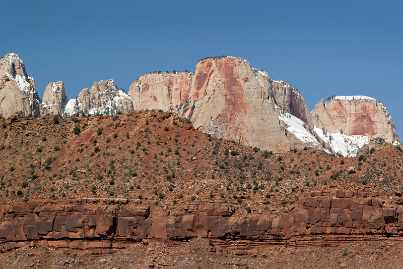 Snowcapped Ridge