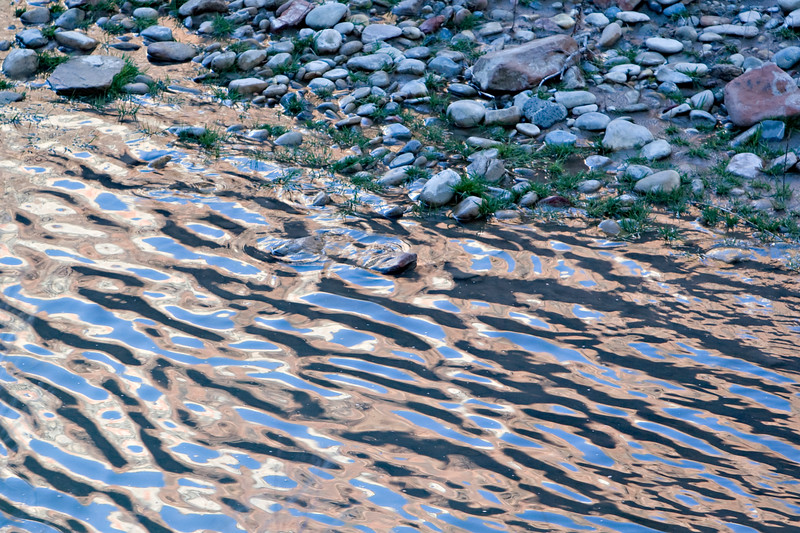 Virgin River at Sunset