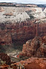 View of Zion Canyon from Cable Mountain-0506