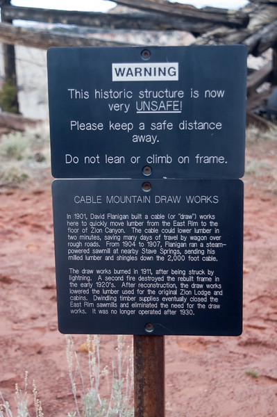 Cable Mountain Warning-0511